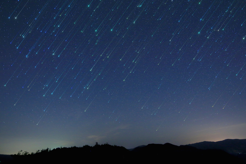 Rainbow-Colored Shooting Stars May Fly Overhead Someday