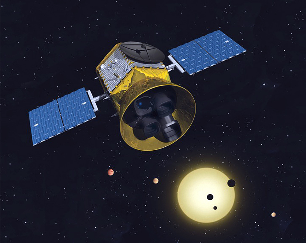 NASA's Transiting Exoplanet Survey Satellite