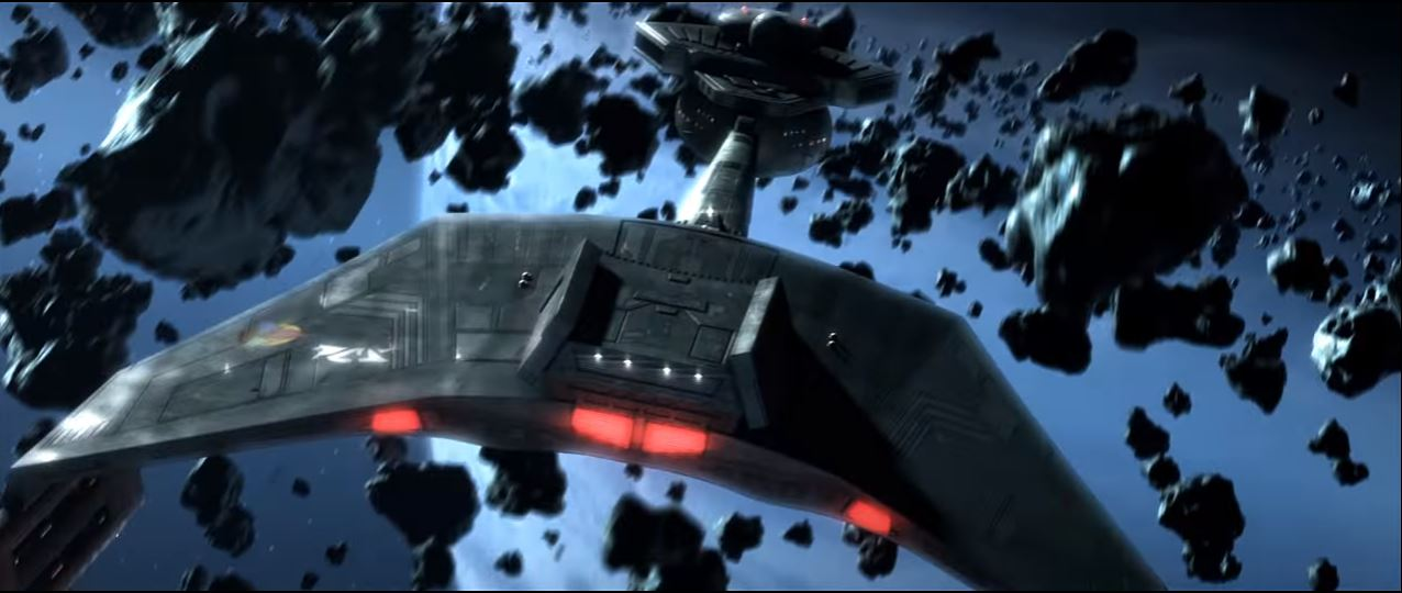 "A still image from a new teaser trailer for the fan-made ""Star Trek"" film ""Axanar."" The trailer was provided exclusively to Space.com."