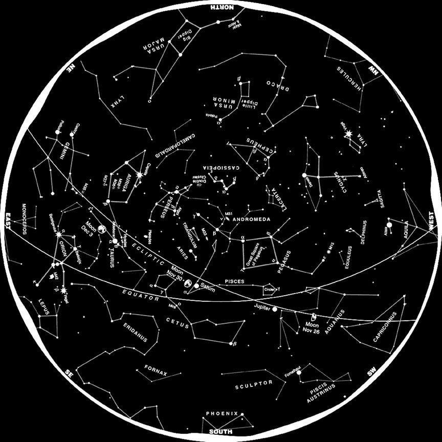 Unusual modern constellations
