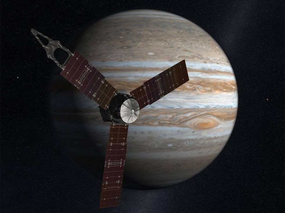 One-Week Countdown Begins for Juno Mission's Daring Arrival at Jupiter