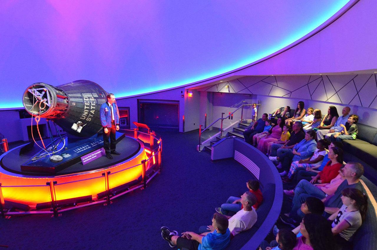 Hoosier Astronaut's Mercury Capsule Stars in Children's Museum Exhibit