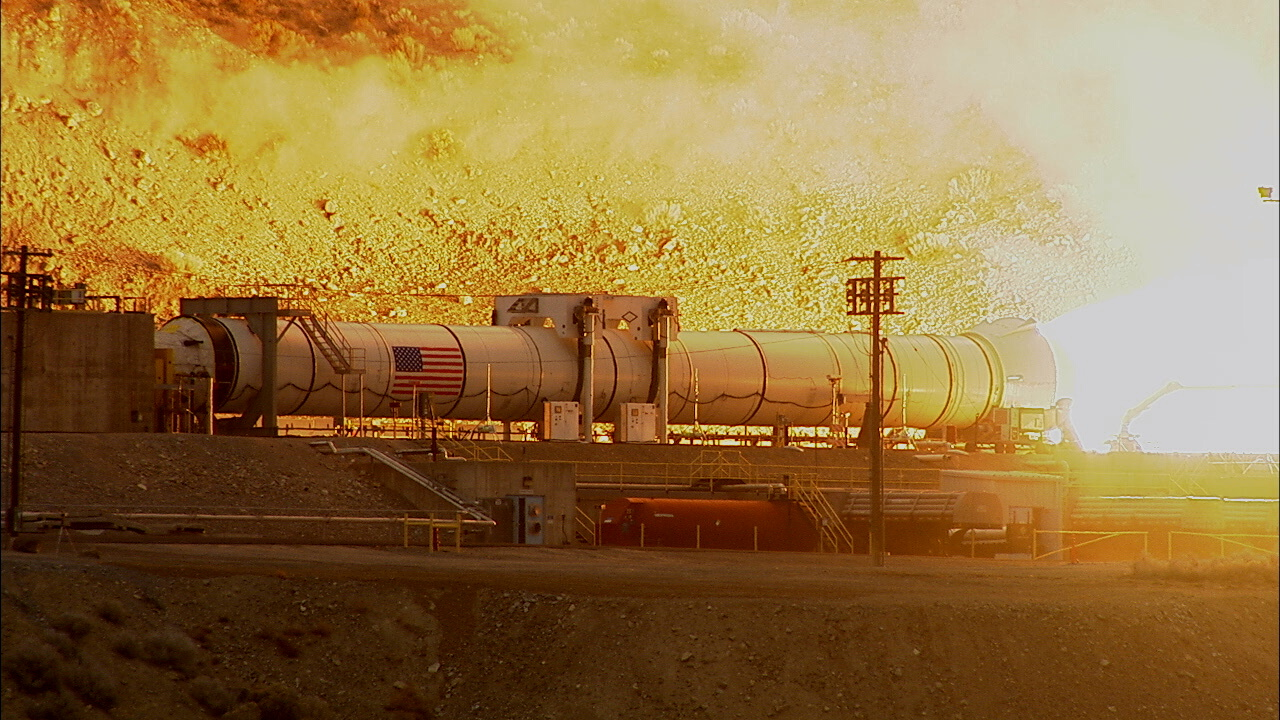 NASA to Test-Fire Booster for Megarocket Tuesday: Watch Live