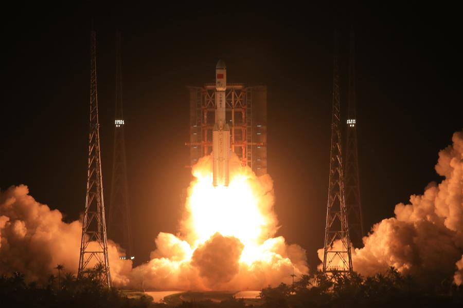 Long March 7 Rocket Launches, June 25, 2016