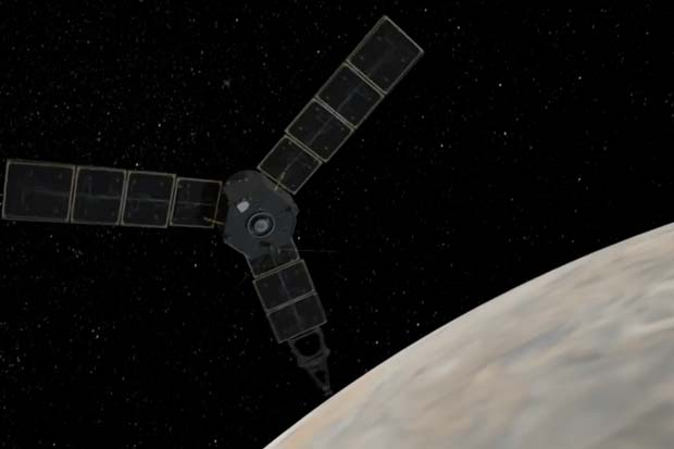 Amazing! Jupiter Probe and Blender Run On About Same Power | Video