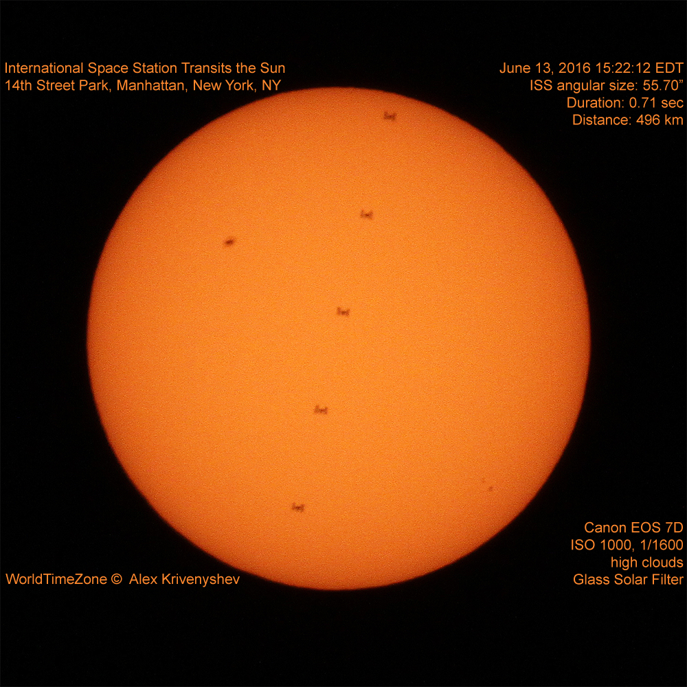 Wow! Space Station Crosses Sun's Face in Amazing Photo