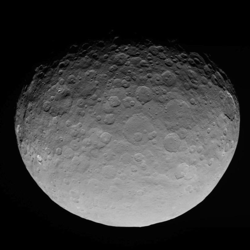 Dwarf planet Ceres Image