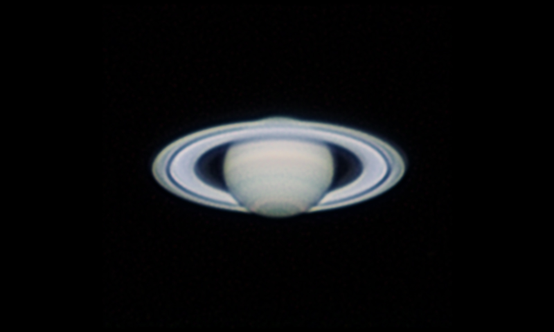Saturn Seen in Mississauga, Ontario, Canada