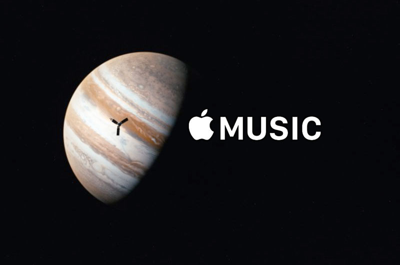 Songs Inspired by Juno Mission: NASA, Apple Team Up