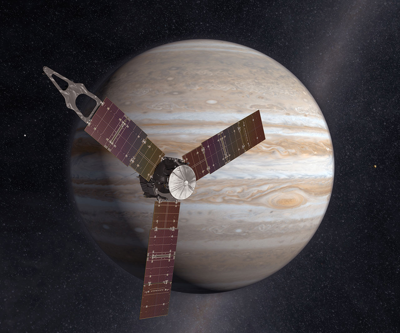 Juno's Jupiter Arrival Continues String of July 4 Spaceflight Milestones