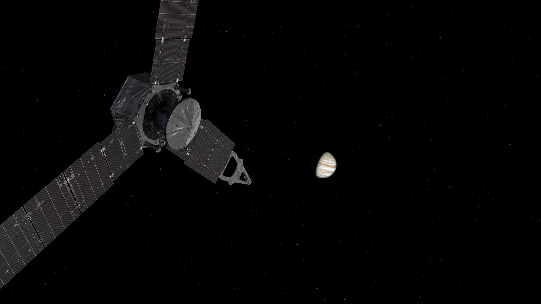Juno Probe Approaching Jupiter