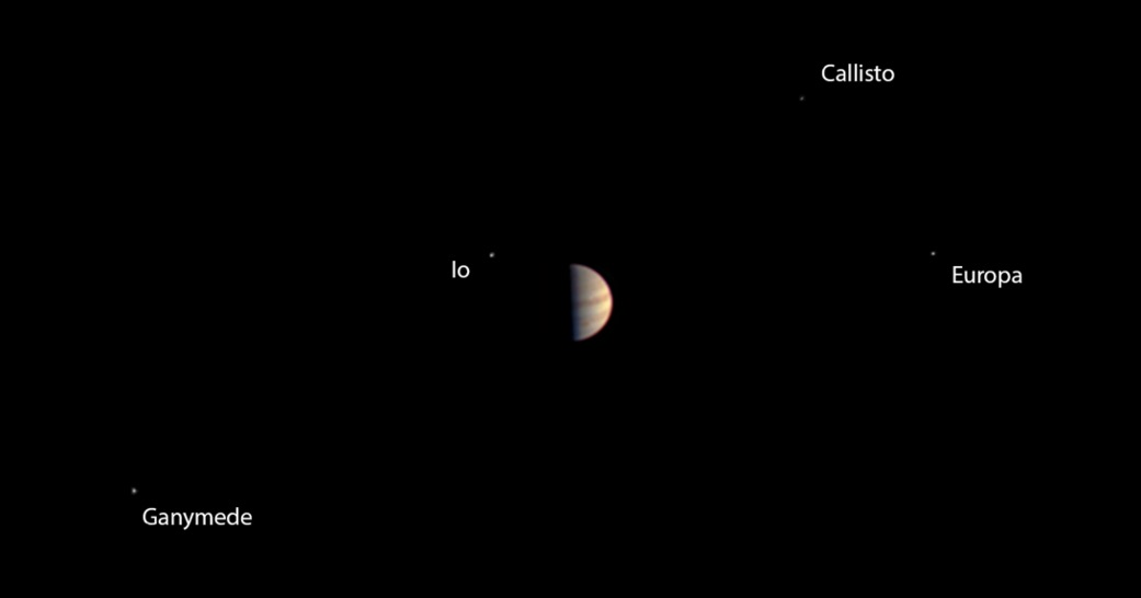 Juno's Last Pre-Orbit View of Jupiter, June 29, 2016