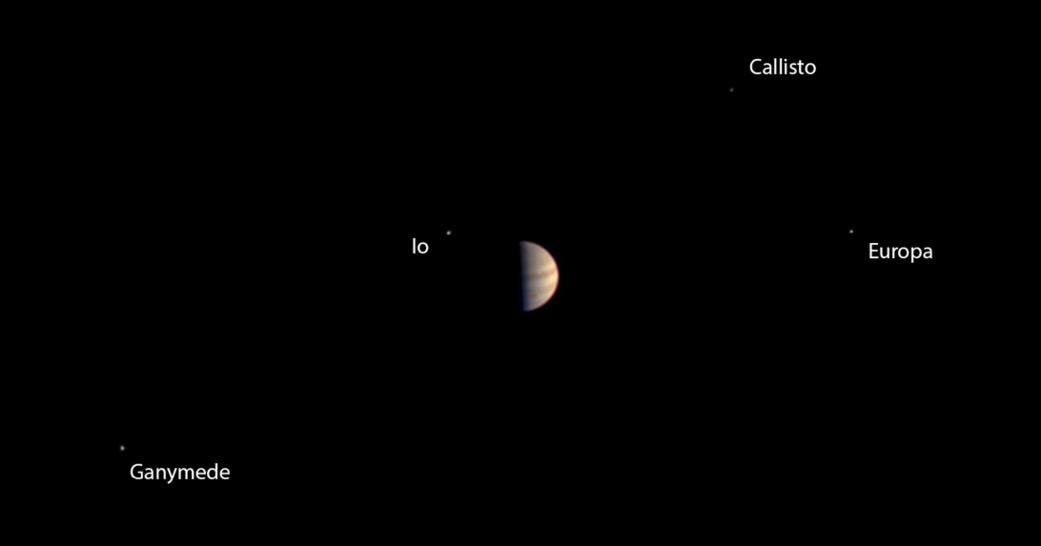 Juno's Last Pre-Orbit View of Jupiter, June 29, 2016