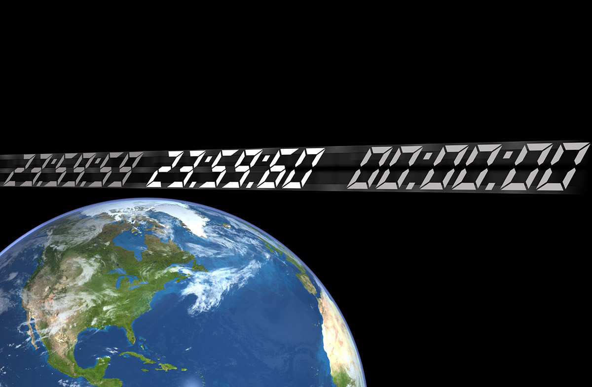 Needs a 'Leap Second' to Sync With Earth's Rotation