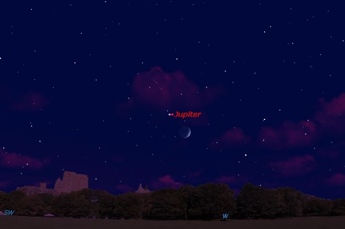 See Jupiter and the Moon Team Up in Friday's Night Sky