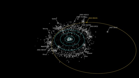 New 'large and bright' dwarf planet discovered in our solar system