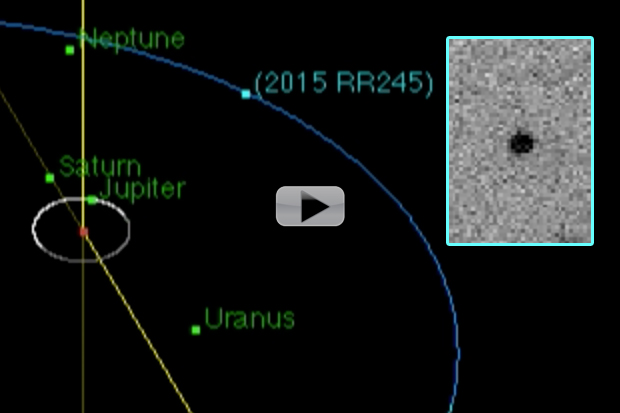 New Icy Dwarf Planet Lurks Past Neptune | Video