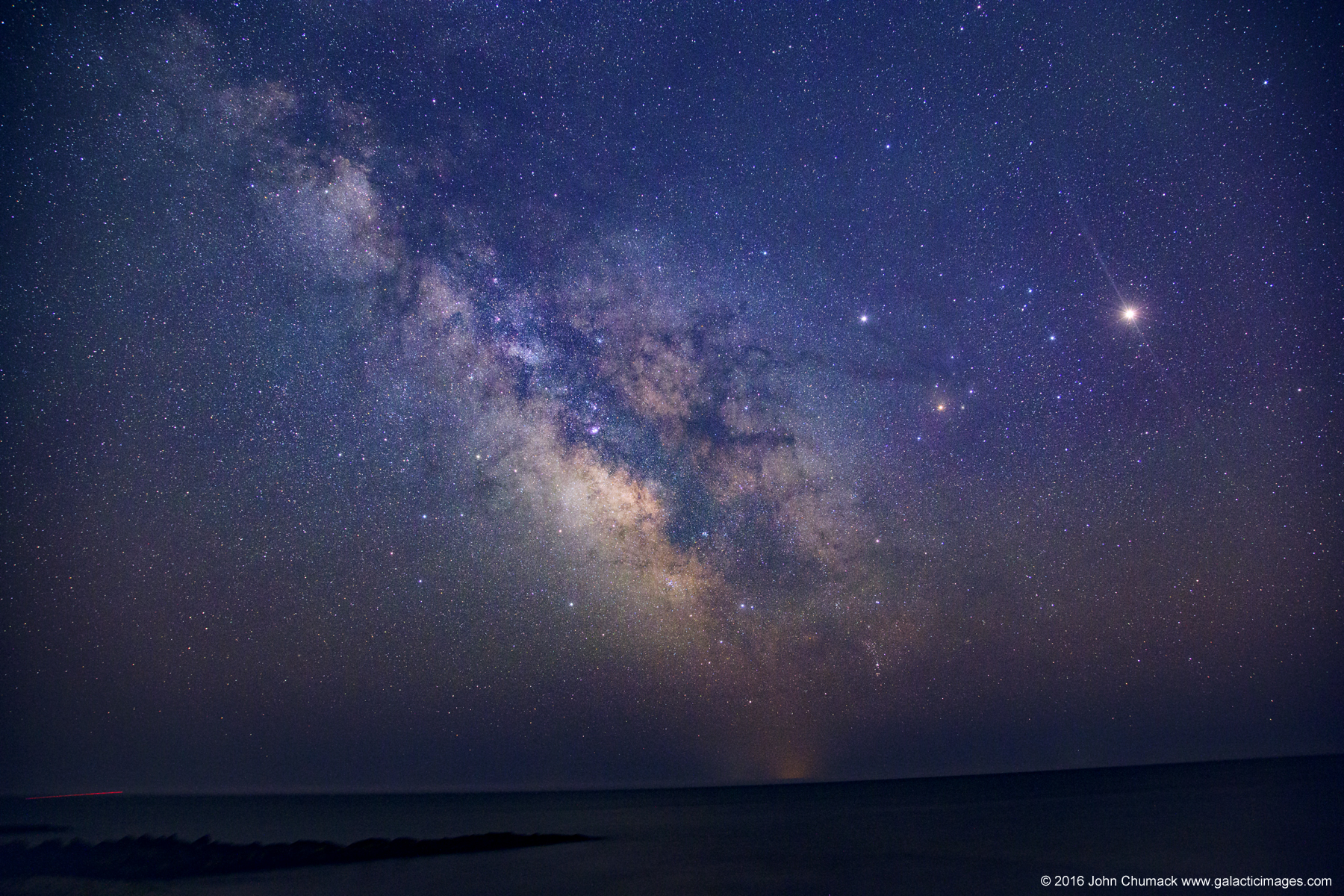 Milky Way Shining Over Nantucket Sound