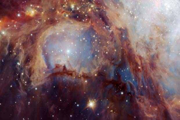 Mesmerizing Orion Nebula Infrared View Reveals Hidden Features | Video