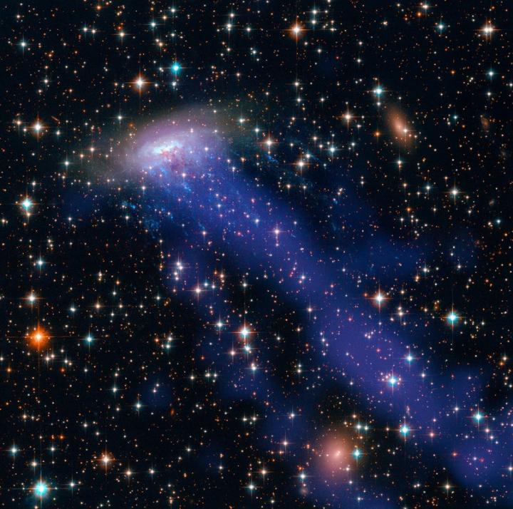 Spiral Galaxy Streak