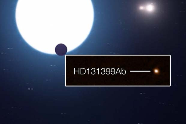 Triple Star System Planet Is Directly Imaged - That's Rare! | Video