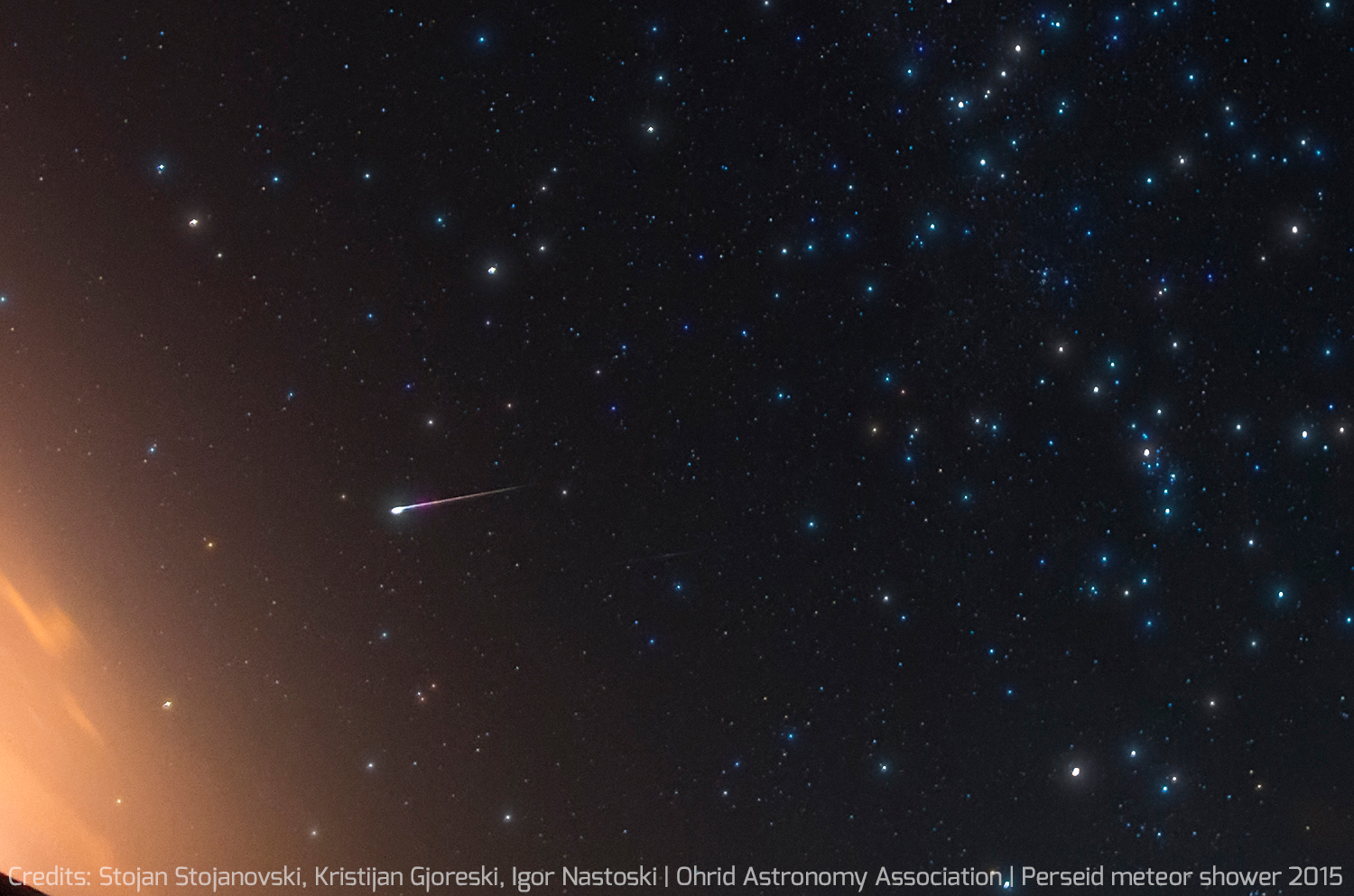 2015 Perseid Meteor Shower in Macedonia