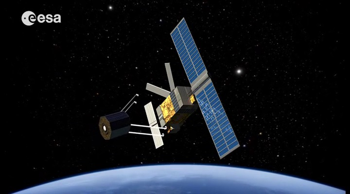 The ESA plans to launch a satellite in 2023 to capture abandoned space junk drifting through space and bring it down to where it can safely burn up in Earth's atmosphere.