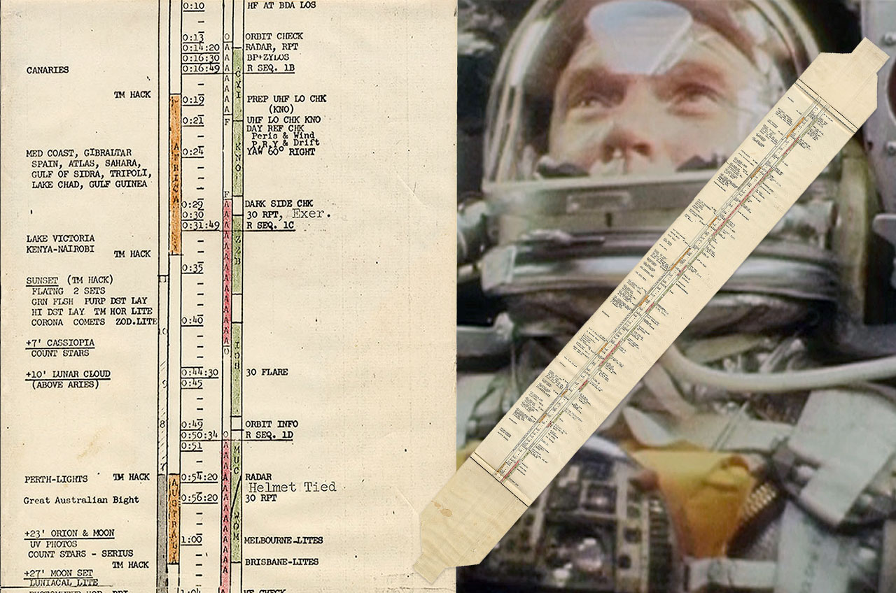 John Glenn Flight Plan