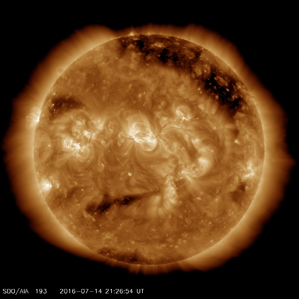 The Sun's 'Nervous Face' Captured by SDO