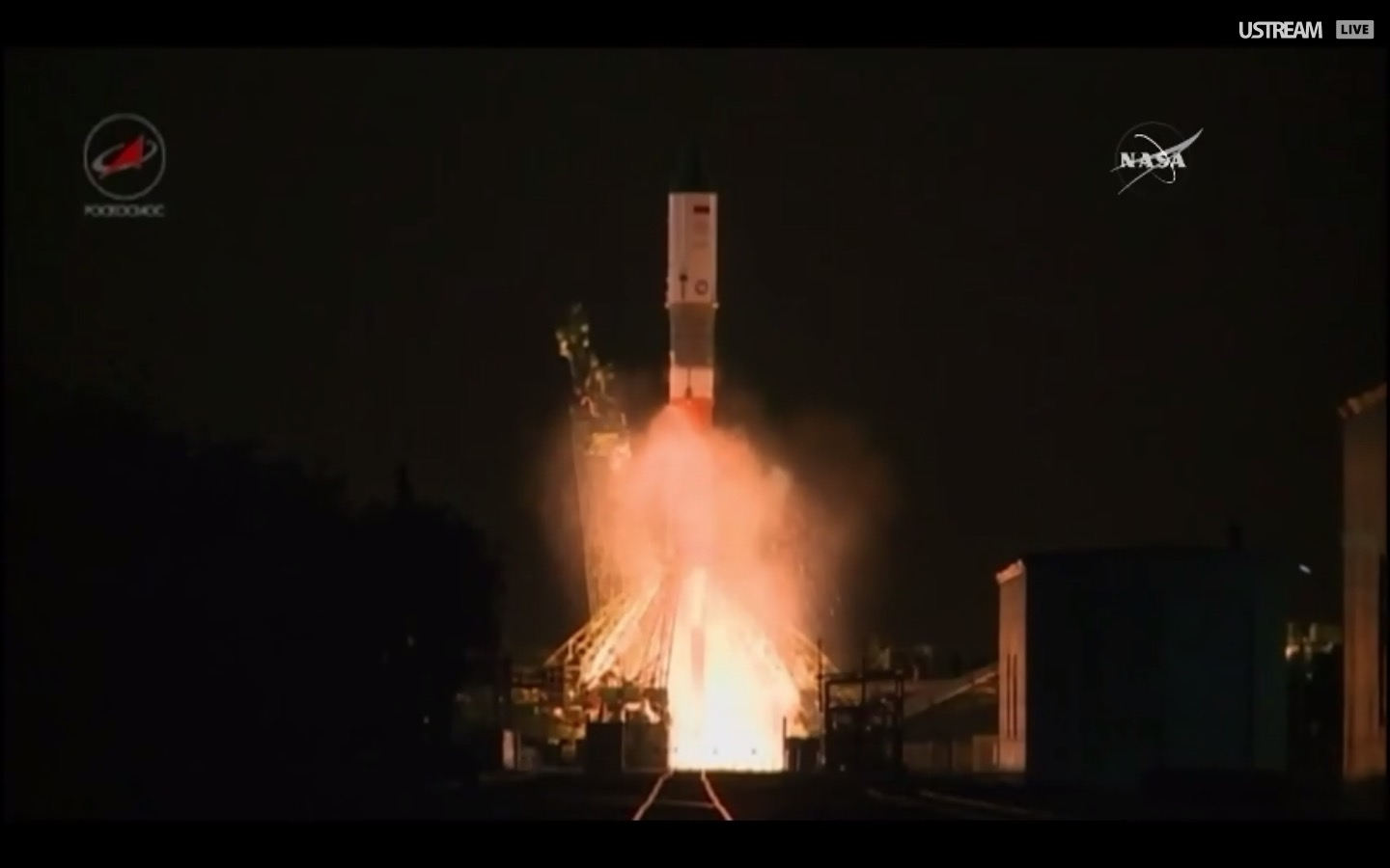 Russia Launches Robotic Supply Ship to International Space Station