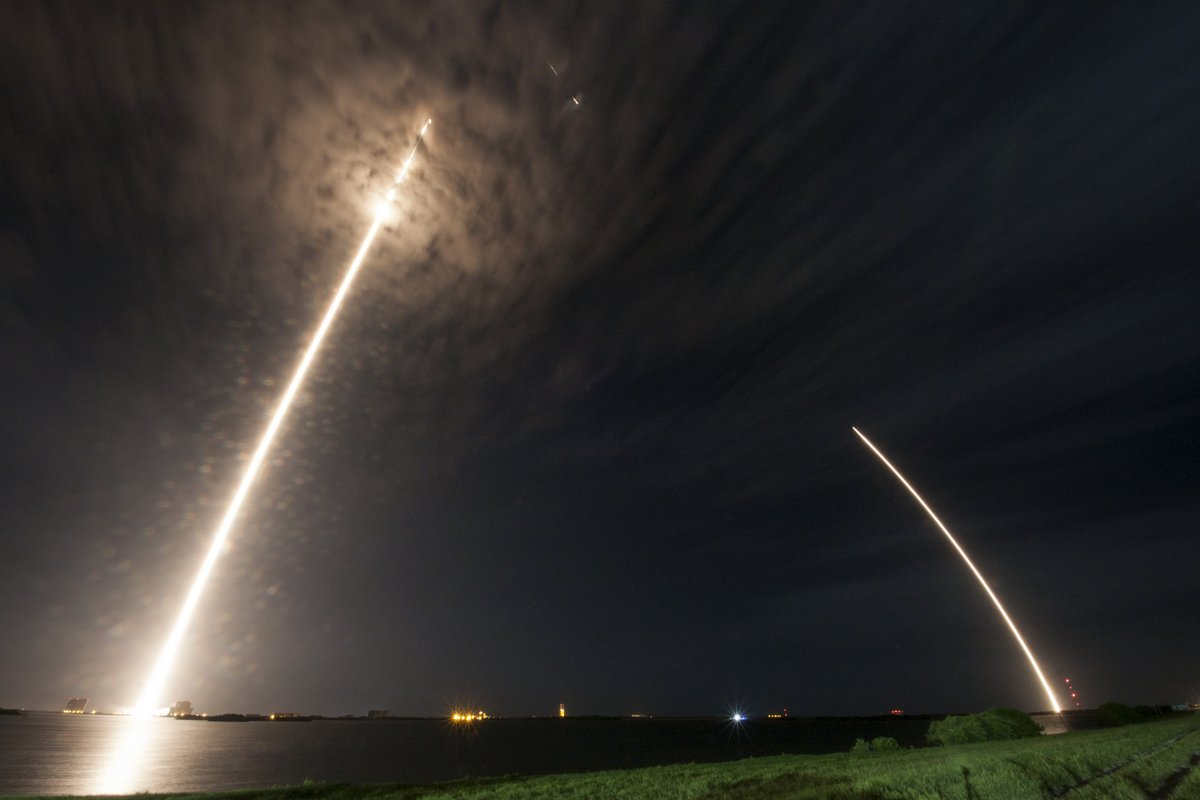 No. 5! SpaceX Lands Another Rocket During Space Station Cargo Launch