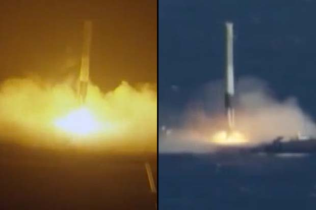 All 5 SpaceX Rocket Landings - Experience Them Right Here! | Video