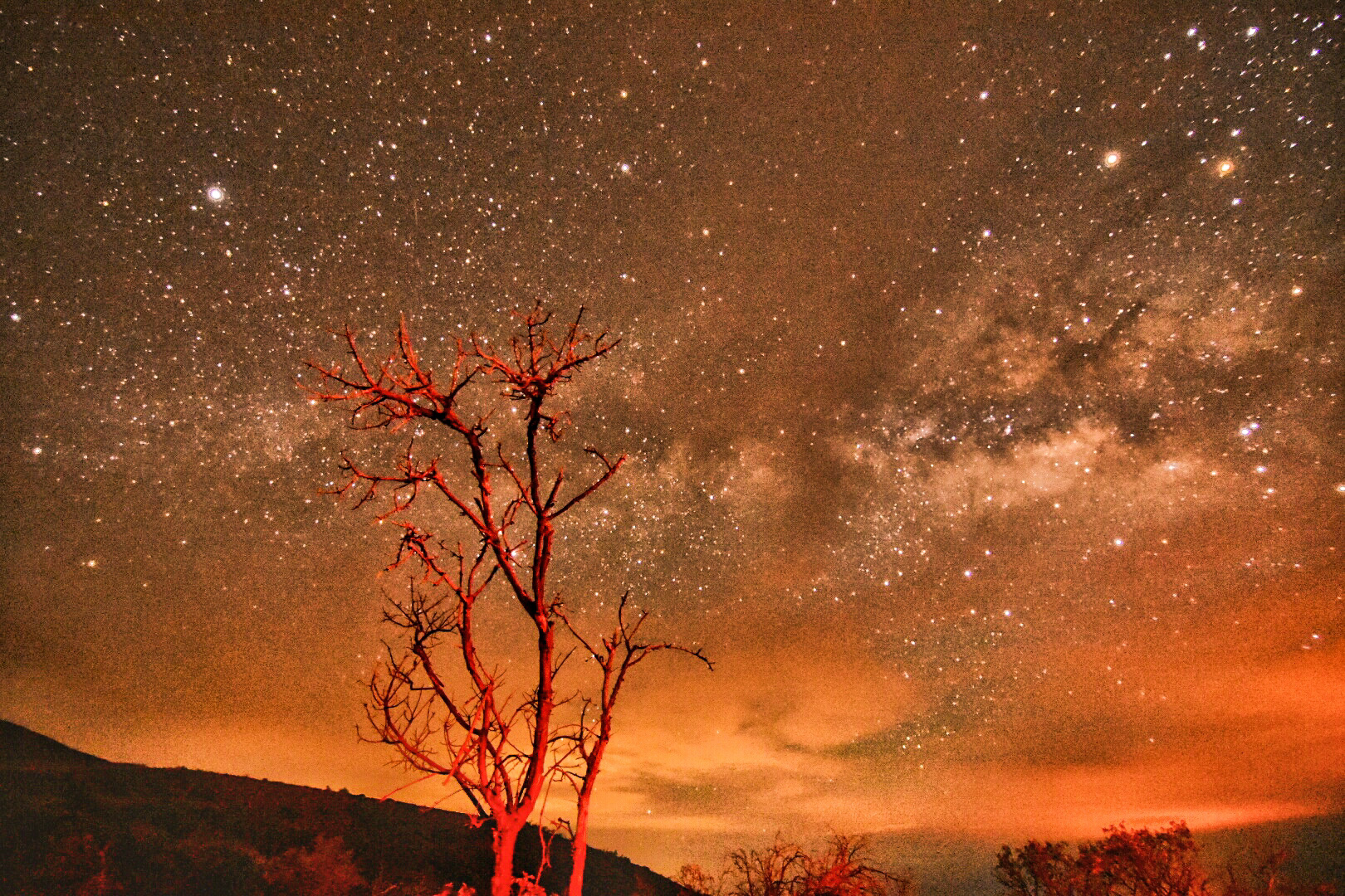 Mauna Kea Milky Way by Mike Beck