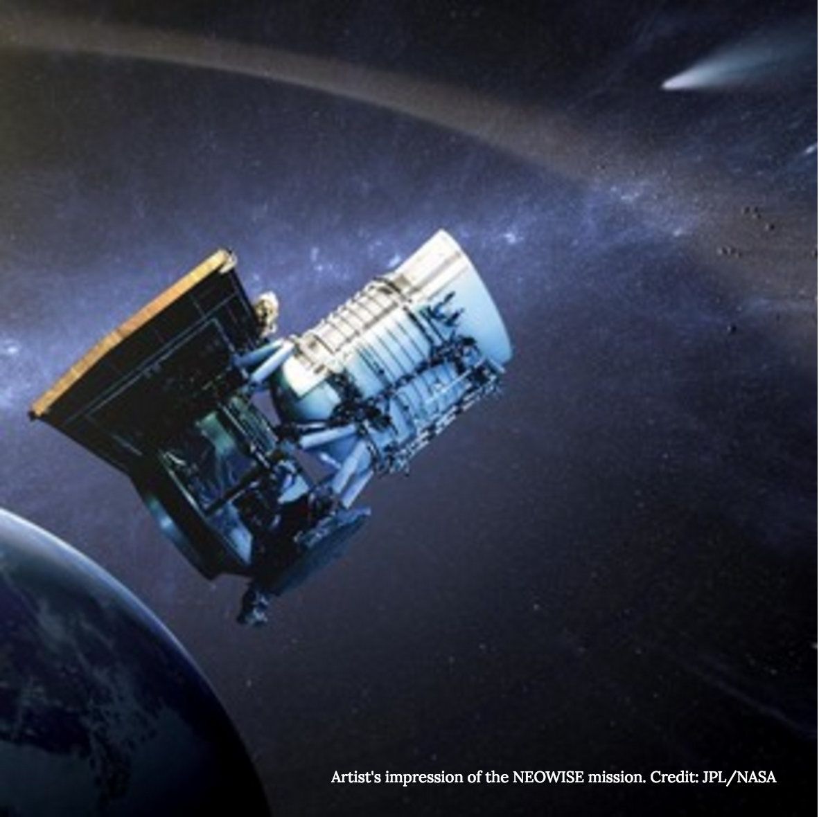 WISE: NASA's Infrared Asteroid Hunter