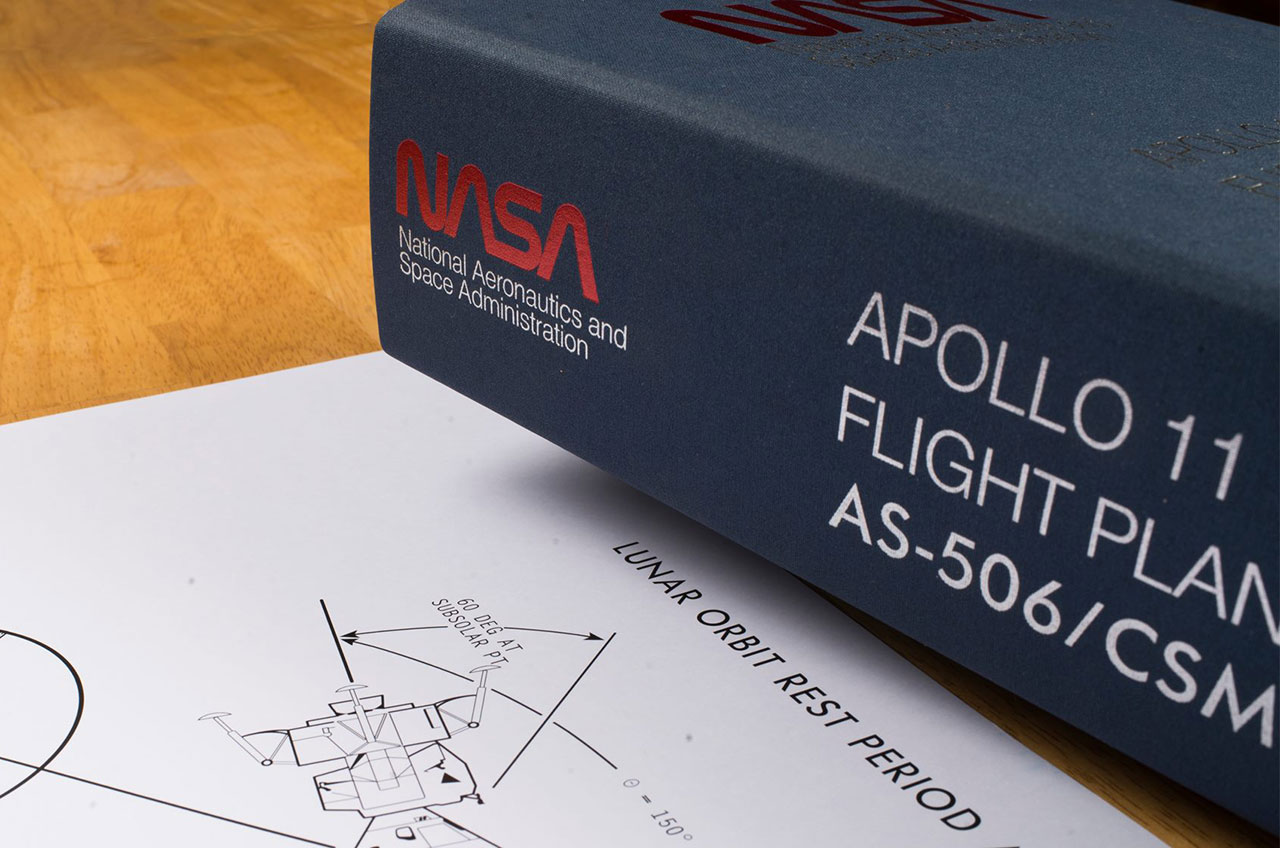 Apollo 11 Flight Plan for 1st Moon Landing Getting Crowdfunded Re-Issue
