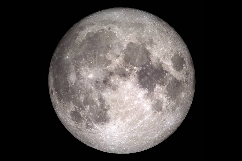Full moon photo by NASA