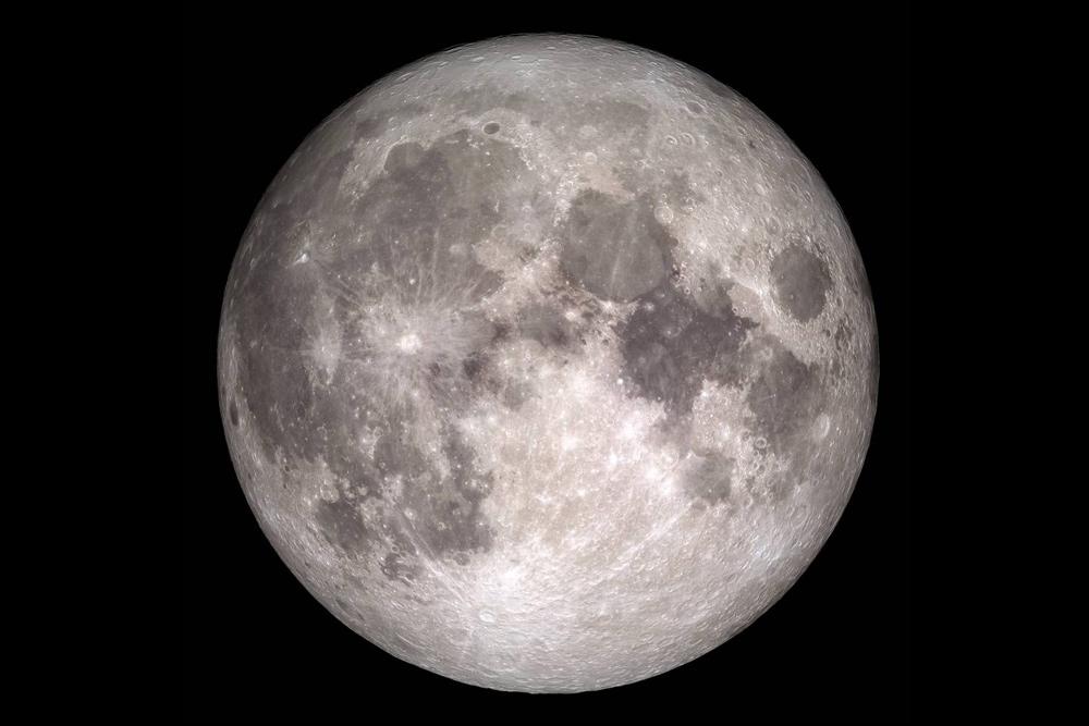 Full moon photo by NASA