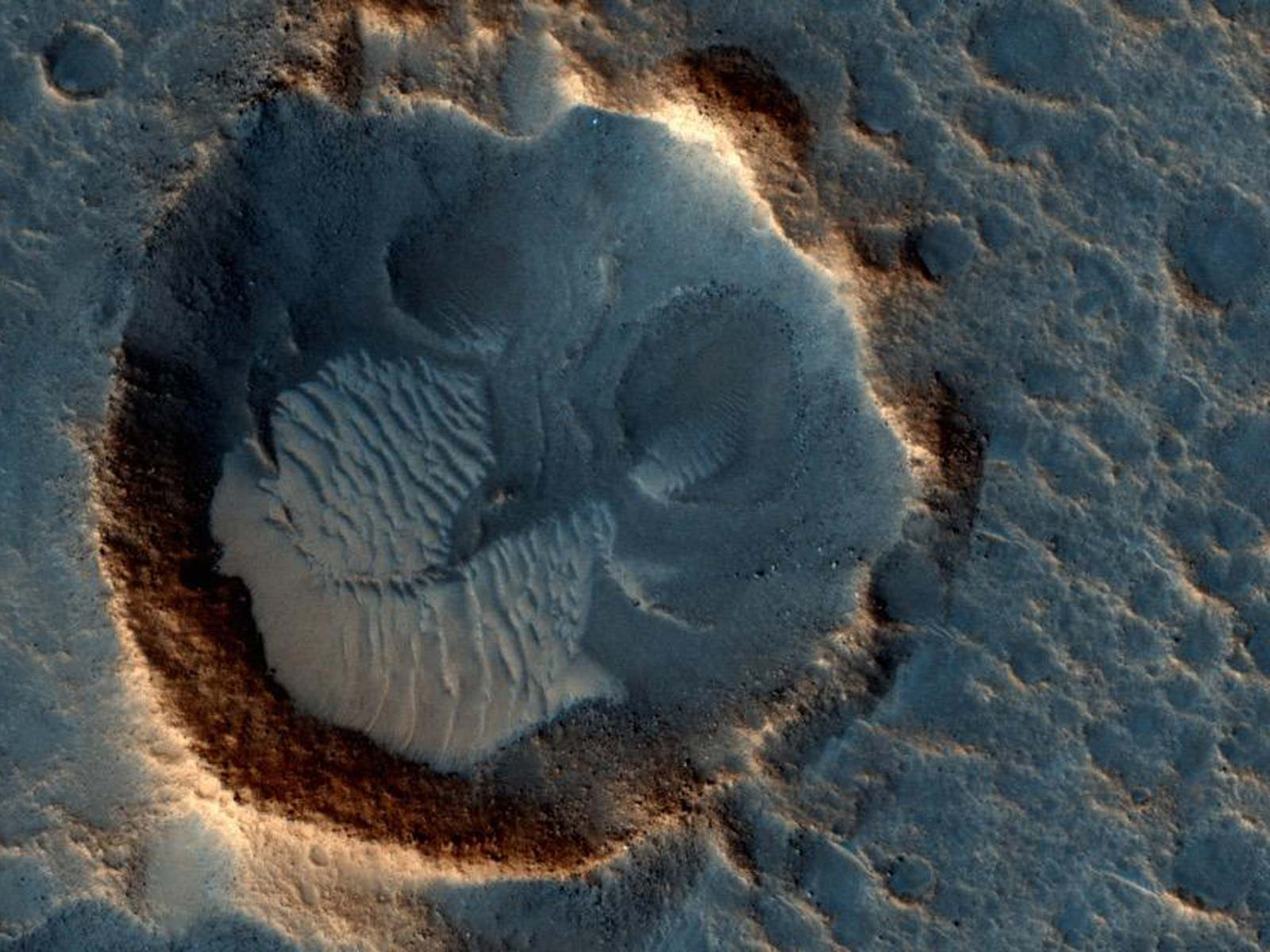 Acidalia Planitia — Fact Meets Fiction | Space Wallpaper