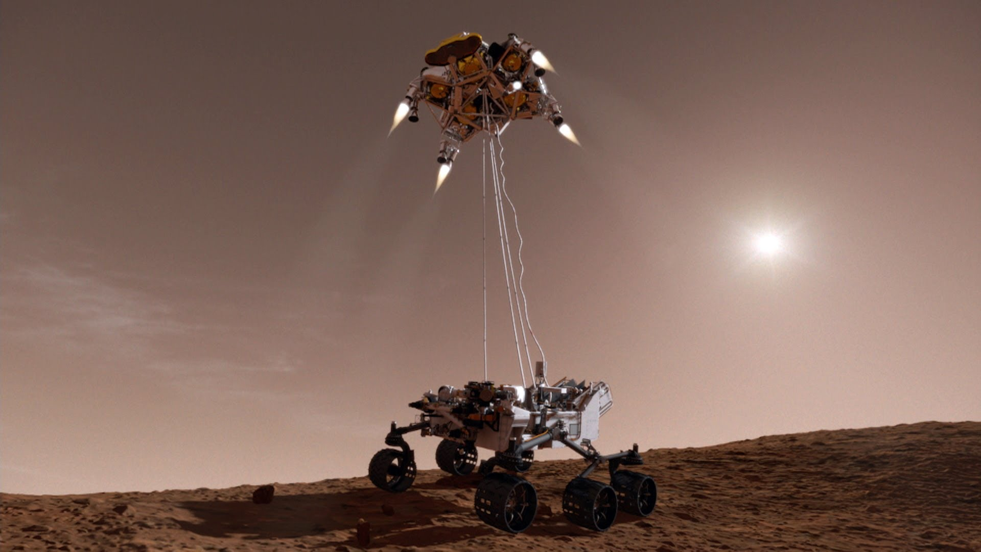 Parachutes, Sky Cranes and More: 5 Ways To Land On Mars