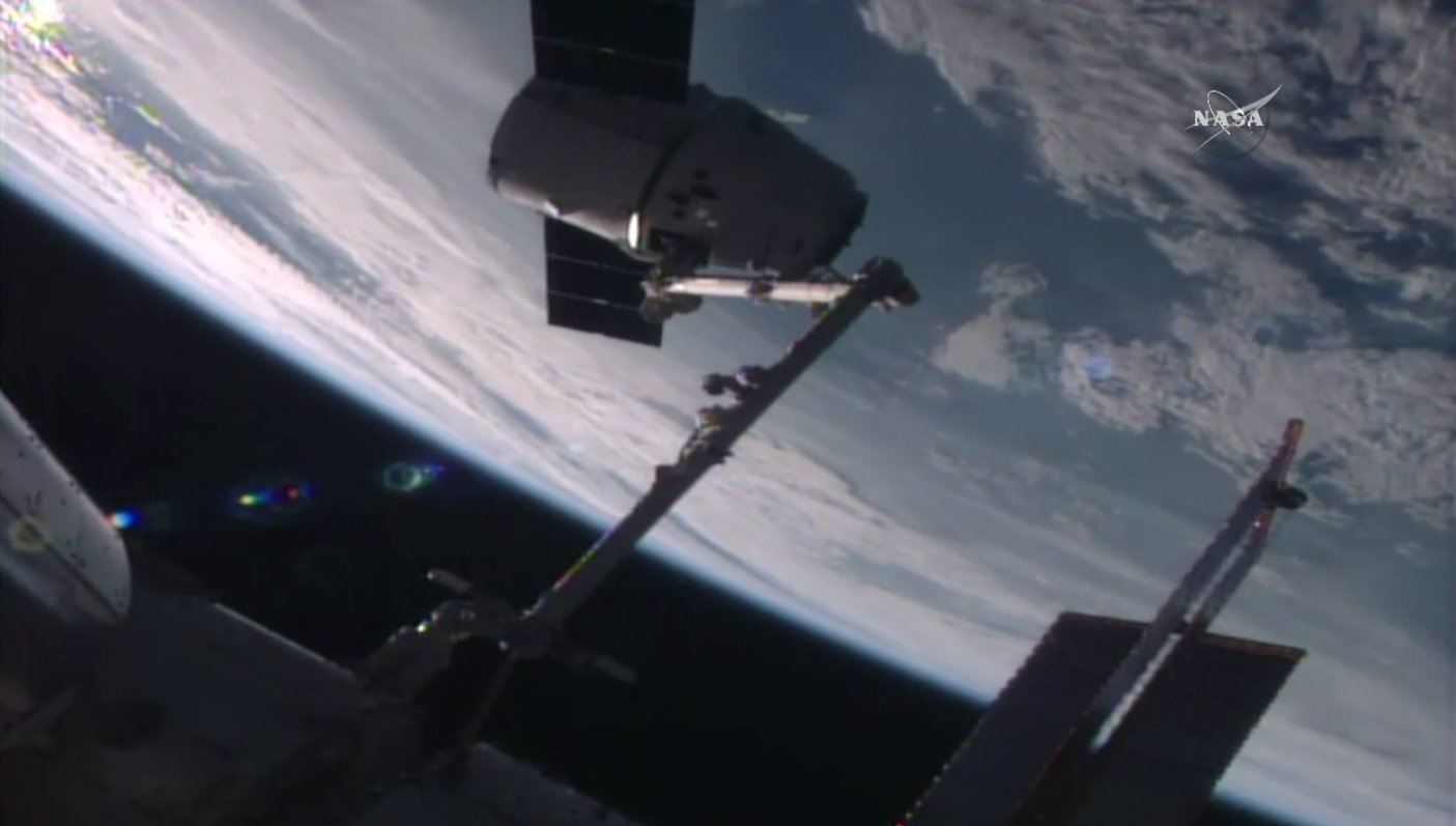 SPACE WEBCASTS: SpaceX Dragon Spacecraft Departs Station