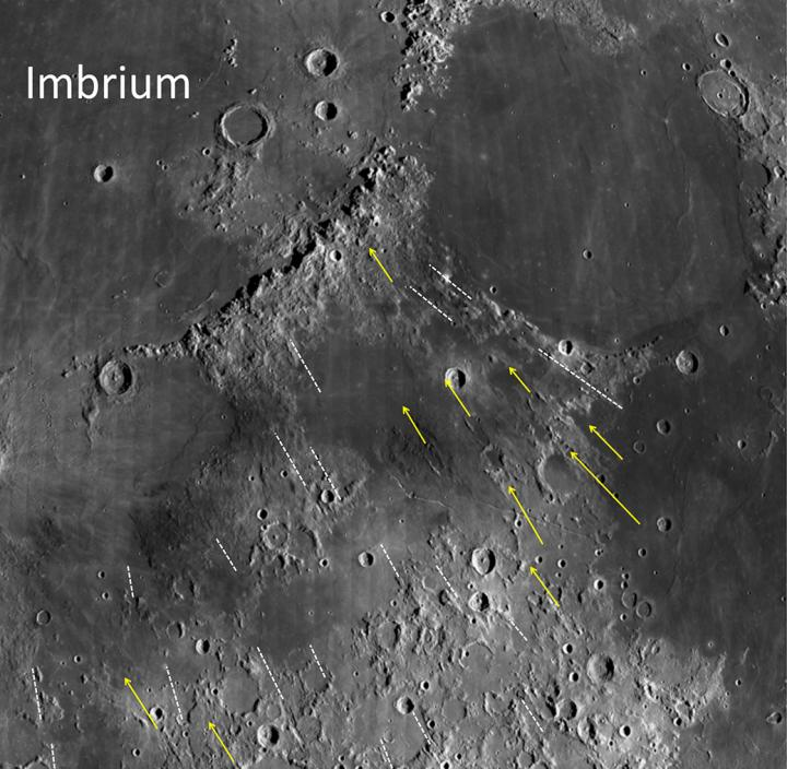 Long-Ago Giant Impact May Have Created Moon's Mysterious Grooves