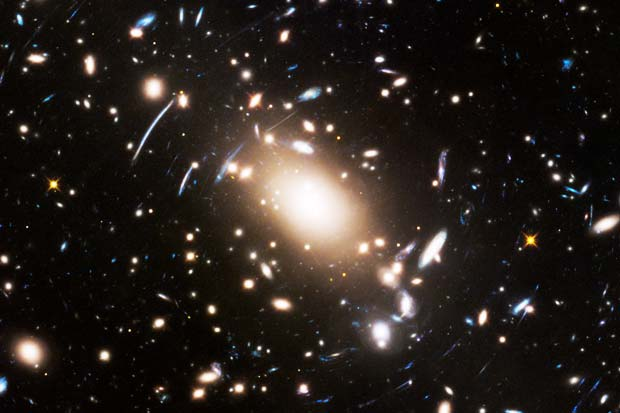 Spirit of 'Star Trek' - Hubble Explores Ancient Galaxy Cluster  | Video