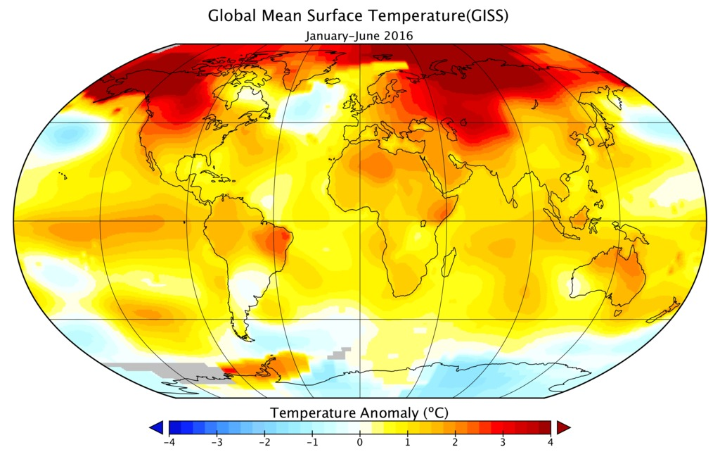 Hottest Year Ever? 2016 Burns Through Heat Records, NASA Says