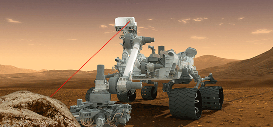 Pew! Pew! Pew! Mars Rover Curiosity Can Now Fire Laser On Its Own