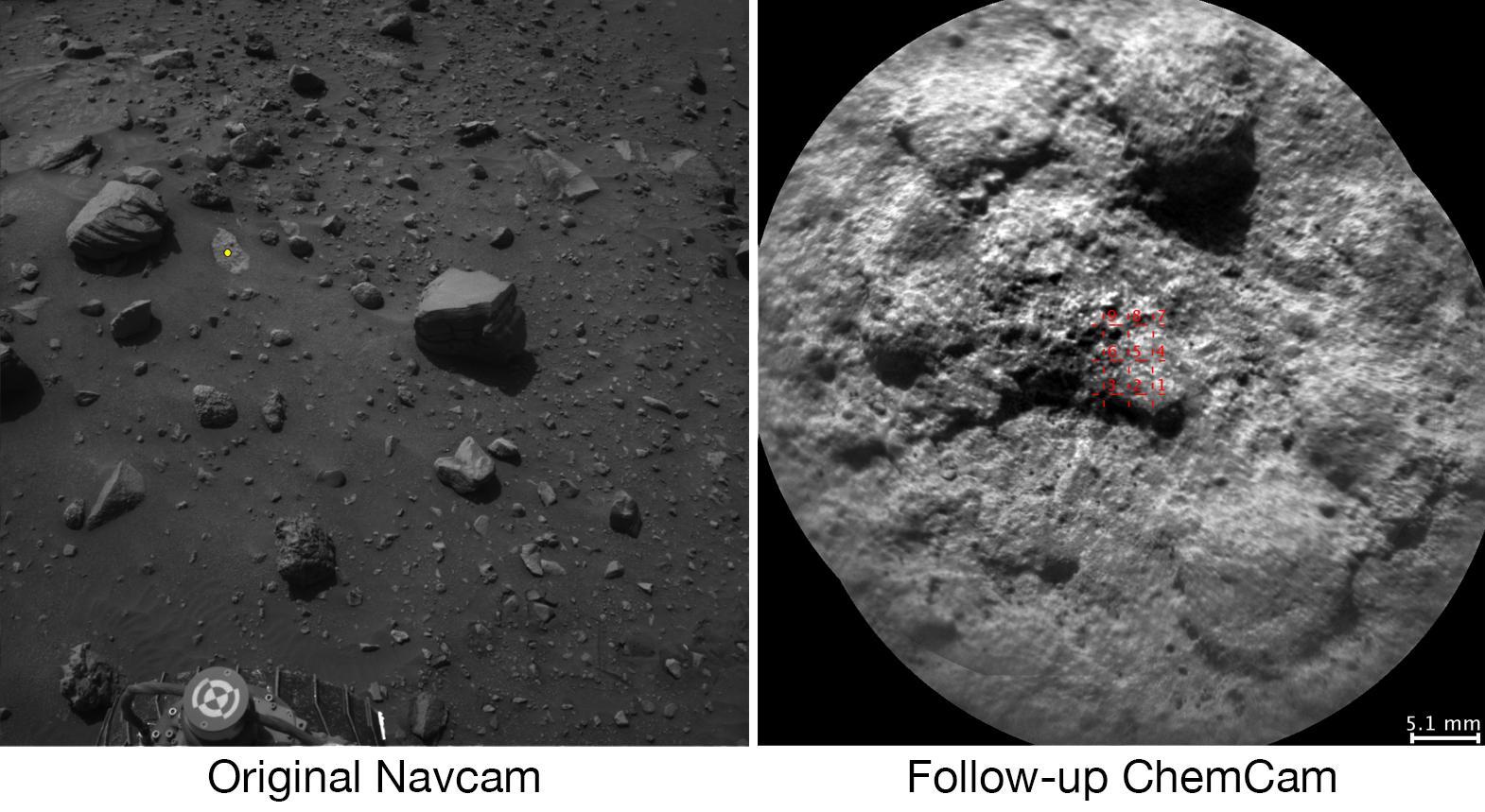 Mars Rover Curiosity Fires Laser Autonomously