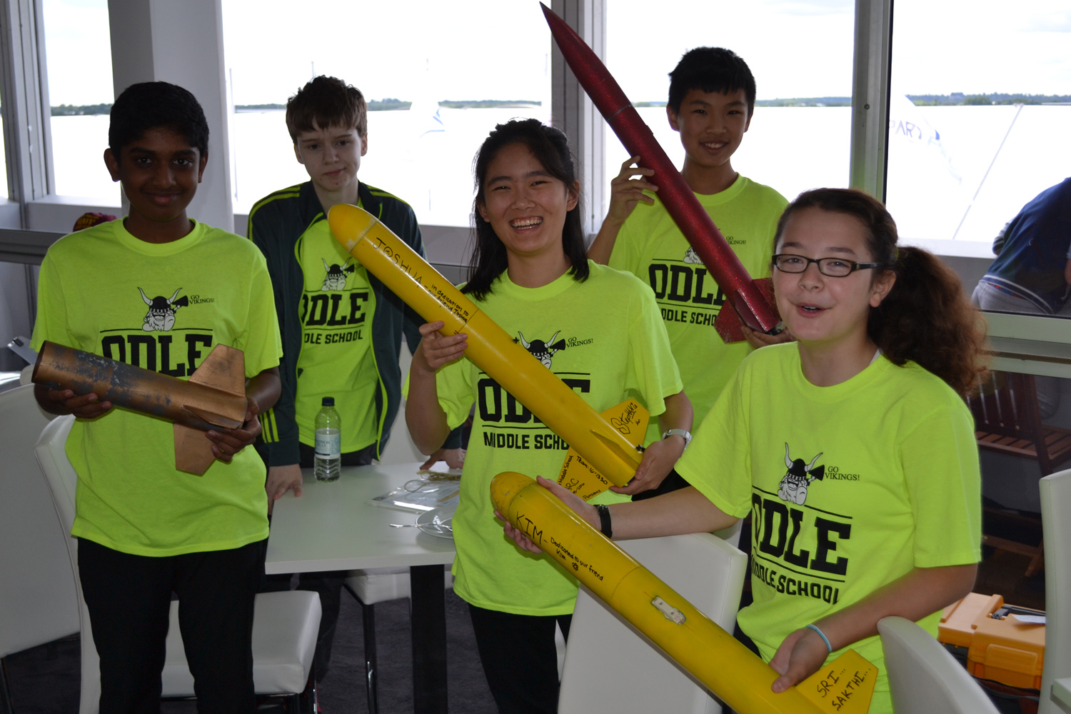 US Middle School's 'Space Potatoes' Win International Rocketry Challenge