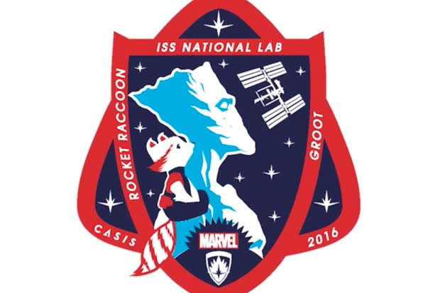 Marvel's 'Rocket and Groot' Space Station Mission Patch Debuts | Video