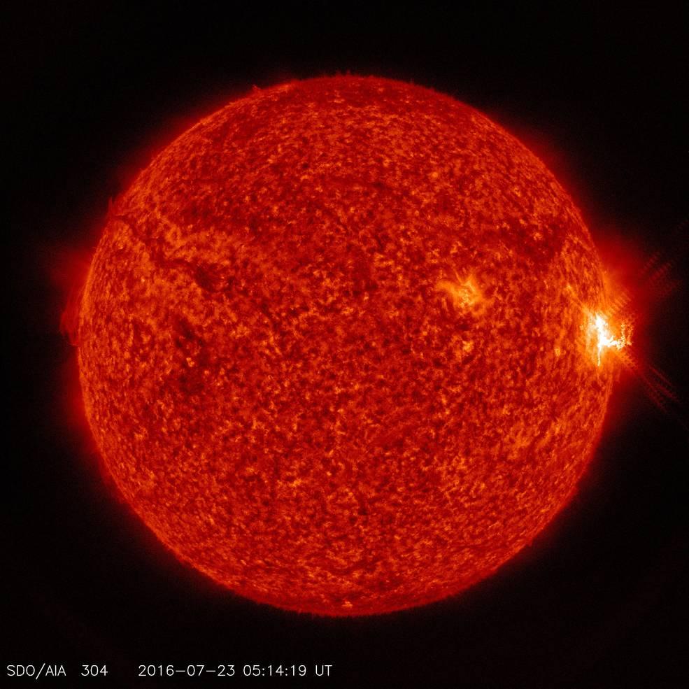 Solar Flare Trio