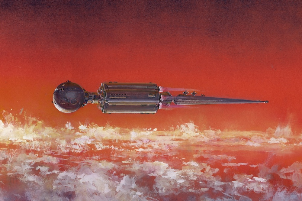 The Spacecraft Designs of Arthur C. Clarke (Space.com Exclusive)