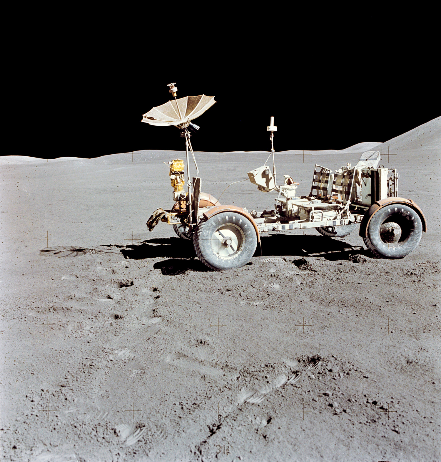 Apollo 15: First Moon Buggy Celebrates 45th Anniversary